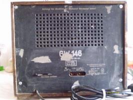 Foto 2 Einer der ersten Radio Empfänger Nora Radio GW 146