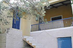 Einfaches Einfamilienhaus auf Egina/Griechenland