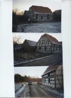 Einfamilienhaus-Fachwerk- Rohbau