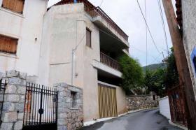 Einfamilienhaus nahe der Ortschaft Tyros/Griechenland