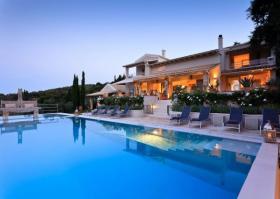 Einzigartige Luxusvilla auf der Insel Korfu/Griechenland