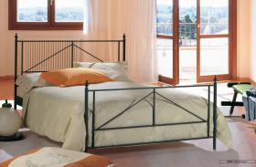 Eisen-Doppelbett, sehr hochwertig