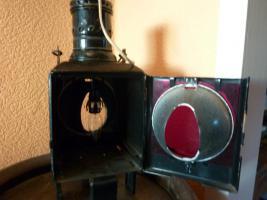 Foto 4 Eisenbahnlampe