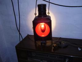 Foto 2 Eisenbahnlampe