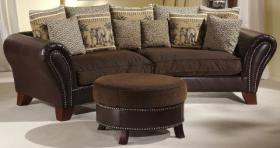 Elefantensofas, Megasofas Little York ***2Sofas+Hocker***