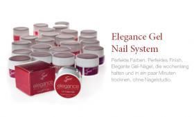 Elegance Gel-Nagel System - frei von chemischen Stoffen