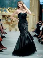 Elegantes Abendkleid Einmal Meerjungfrau sein Gr.34-42
