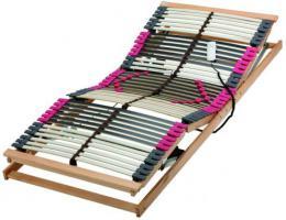 Elektrisch verstellbarer Federholzrahmen, Lattenrost Finessa 860 EL2, 42 mehrfach verleimte Federholzleisten