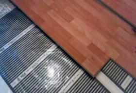 Foto 3 Elektrische Infrarot Fußbodenheizung Heizfolie - 13,50 EUR/m2