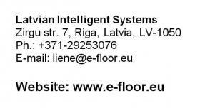 Foto 6 Elektrische Infrarot Fußbodenheizung Heizfolie - 13,50 EUR/m2