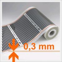 Elektrische-Infrarot Fußbodenheizung Thermofolie - 13,50 EUR/m2