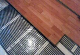 Foto 6 Elektrische-Infrarot Fußbodenheizung Thermofolie - 13,50 EUR/m2