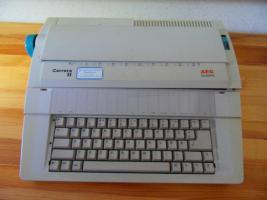 Elektrische Schreibmaschine AEG Olympia Carrera II