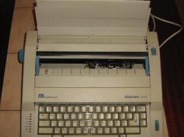 Foto 2 Elektrische Schreibmaschine Gabriele 100