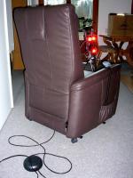 Foto 3 Elektrischer Fernsehsessel Longso 33 Leder Coffee Himolla Cumulus