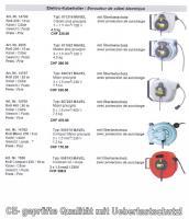 Foto 2 Elektro Kabelroller Länge 6 – 25 Meter -2.5mm2 mit Überlastschutz