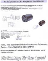 Foto 4 Elektro Kabelroller Länge 6 – 25 Meter -2.5mm2 mit Überlastschutz