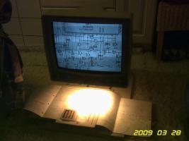 Foto 8 Elektron. Mikroskop REINECKER Videomatic M3 - MPR2 Bildschirm - Lesegerät, FP280EUR 068815954002