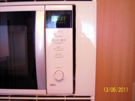 Foto 3 Elektronische Mikrtowelle mit Infrarot-Grill von Sharp Preis verhandelbar