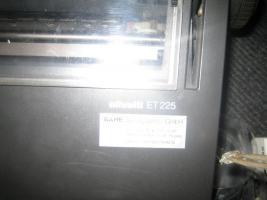 Foto 3 Elektronische Schreibmaschine Olivetti Et 225