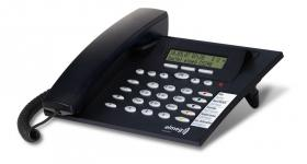 Elmeg Funkwerk CS290 ISDN Systemtelefon (dunkelblau)