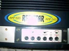 Foto 3 Endstufe 1100W RedStar AMP 500 gebraucht neuwertig