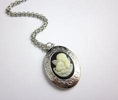 Engel Amulett Kette