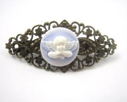 Engel Kamee Vintage Haarspange