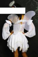 Foto 2 Engel-Kostüm weiß/gold Gr. XS-M - OVP - NEU