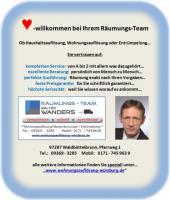 Foto 2 Entrümpelung Wohnungsauflösung Würzburg Haushaltsauflösung Räumung