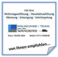 Foto 4 Entrümpelung Wohnungsauflösung Würzburg Haushaltsauflösung Räumung