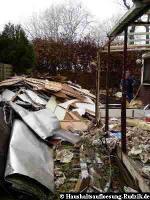 Wohnwagen Abriss