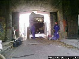 Entrümpelung und Räumung in Bunker