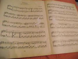Foto 3 Erbstücke - alte Noten für Klavier (und Violine)
