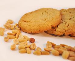 Erdnussbutter Cookies mmm.