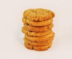 Foto 2 Erdnussbutter Cookies mmm.