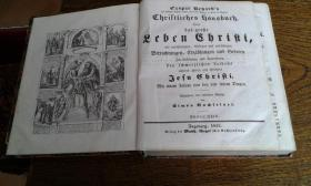 Erhard, Caspar Christliches Hausbuch Oder das große Leben C.1855