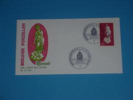 Ersttagsbriefe Berliner Porzellan
