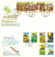 Foto 2 Ersttagsbriefe (FDC - First Day Covers) Tokelau