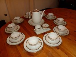 eschenbach bavaria creme mit goldrand kaffee service in unna von privat. Black Bedroom Furniture Sets. Home Design Ideas