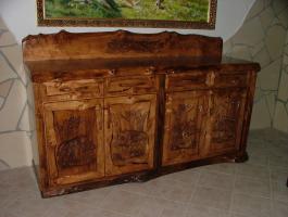 Foto 5 Essgarnituren, Küchenmöbel, Gartenmöbel aus Massivholz