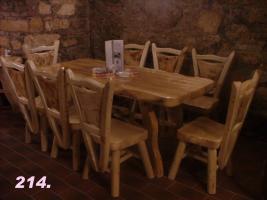 Foto 14 Essgarnituren, Küchenmöbel, Gartenmöbel aus Massivholz