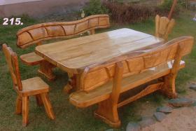 Foto 15 Essgarnituren, Küchenmöbel, Gartenmöbel aus Massivholz