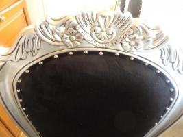 Foto 16 Esstisch Silber mit Löwenköpfen inkl. 8 Barocksessel