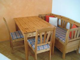 Eßzimmer-Garnitur günstig abzugeben