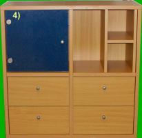Foto 4 Esszimmer-Möbel, Buche furniert (sehr gut erhalten)