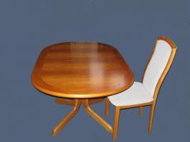 Esszimmertisch Kirschbaum mit 6 Stühlen