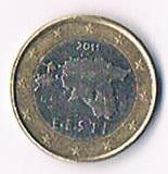 Estland  1 Euro Kursmünze '' 2011 '' !