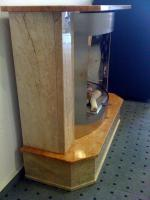 Foto 2 Ethanolkamin Voka-Miniplan, Marmor, echtes Feuer  Nur 20 % vom Neupreis! Super Schnäppchen.