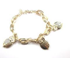 Eulen Armband